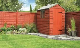 How to paint your shed