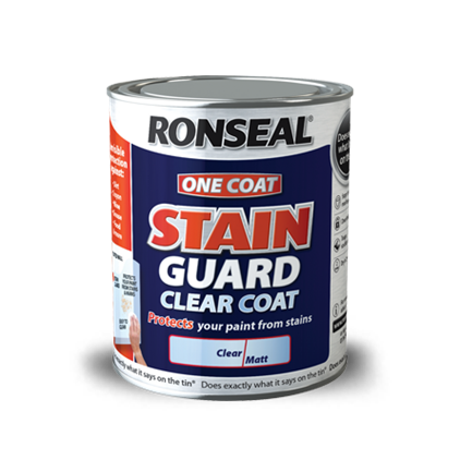 One Coat Stain Guard Clear Coat