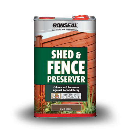 Shed  Fence Preserver Dark Brown