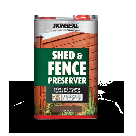 Shed Fence Preserver Dark Brown Png