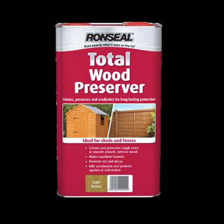 Total Wood Preserver Wood Preserver Ronseal