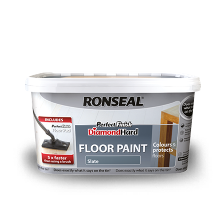 Perfect Finish Diamond Hard Floor Paint Ronseal