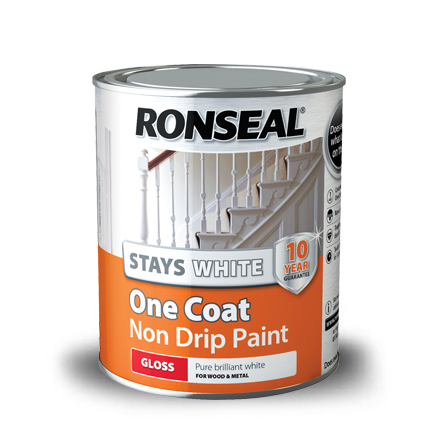 Of white paint 10 year weatherproof exterior wood paint ronseal - Wood exterior paint collection ...