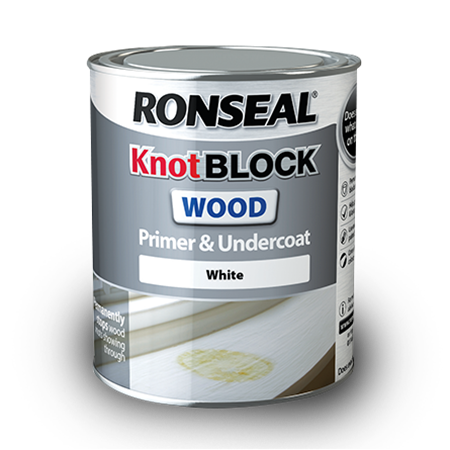 Knot Block Wood Primer and Undercoat | Wood Primer | Ronseal