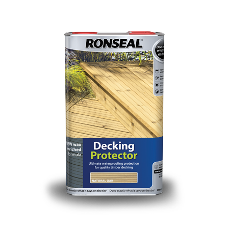 Deck cleaning products strip