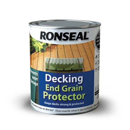 Decking End Grain Protector