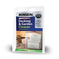 High Performance Decking and Garden Cleaner