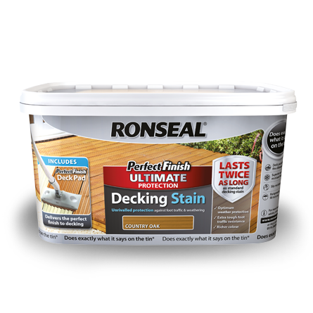 Image of Ronseal Perfect Finish Decking Stain