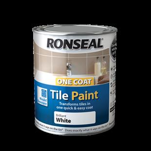 One Coat Tile Paint | Tile Paint | Ronseal