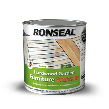 Hardwood Garden Furniture Restorer