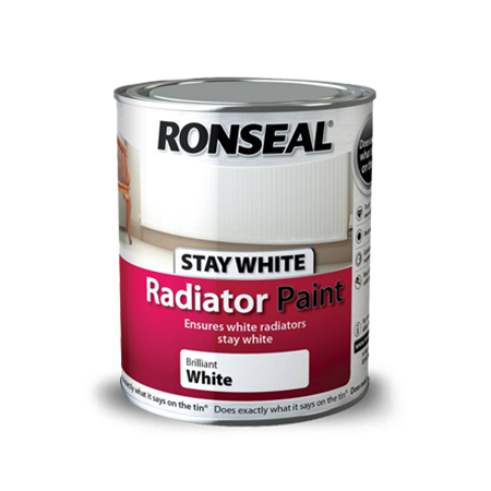 Stay White Radiator Paint Ronseal