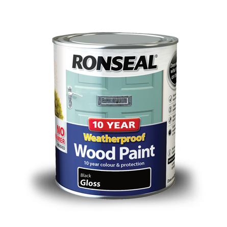 Ronseal 10 Year Weatherproof Paint Black Gloss 750ml.png