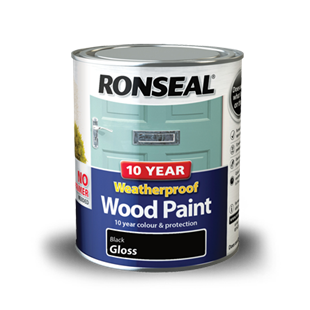 10 Year Weatherproof Wood Paint Ronseal
