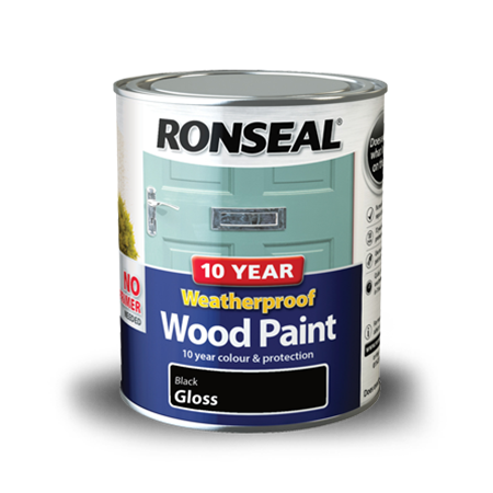 10 Year Weatherproof Wood Paint | Exterior Wood Paint | Ronseal