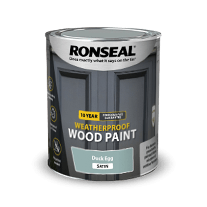 10 Year Weatherproof Wood Paint