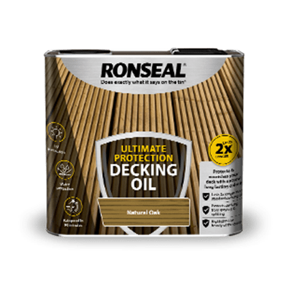 Ultimate Protection Decking Oil